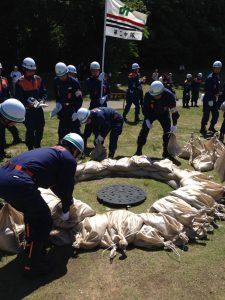 水防訓練②